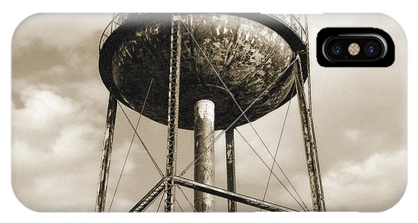 New York Water Towers 11 - Greenpoint Brooklyn IPhone Case