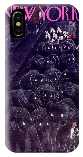 New Yorker April 10 1937 IPhone Case