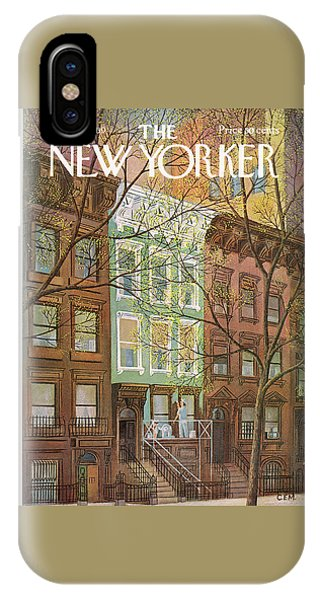 New Yorker April 12th, 1969 IPhone Case