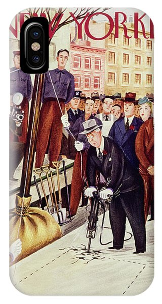 New Yorker April 13 1940 IPhone Case