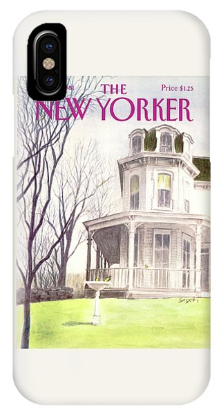 New Yorker April 13th, 1981 IPhone Case