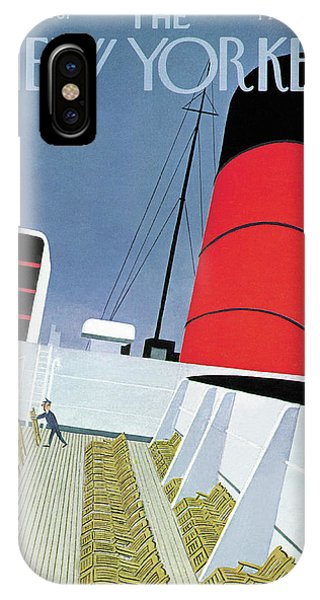 New Yorker April 15th, 1967 IPhone Case