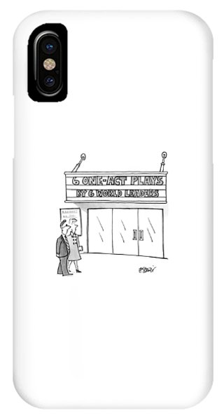 New Yorker April 16th, 1990 IPhone Case