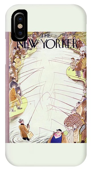 New Yorker April 18 1936 IPhone Case