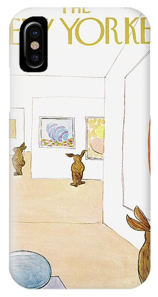 New Yorker April 1st, 1972 IPhone Case