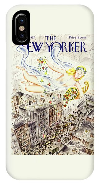 New Yorker April 2 1937 IPhone Case