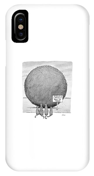 Style iPhone Case - New Yorker April 20th, 1998 by Harry Bliss