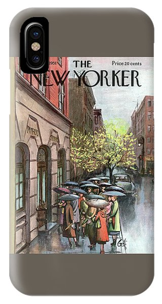 New Yorker April 21st, 1951 IPhone Case