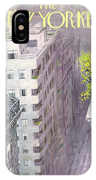New Yorker April 22nd, 1967 IPhone Case