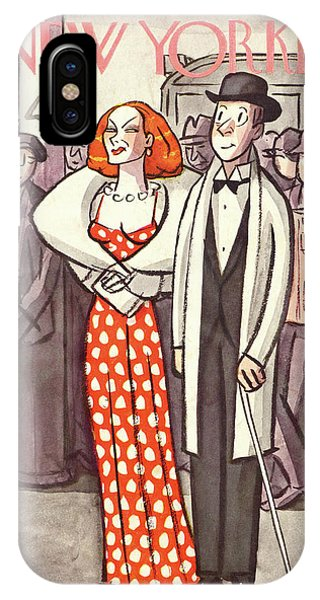 New Yorker April 24th, 1937 IPhone Case