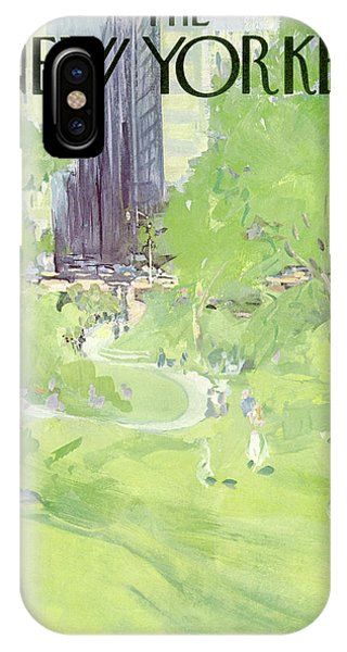 New Yorker April 24th, 1971 IPhone X Case