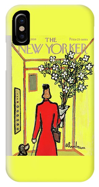 New Yorker April 25th, 1959 IPhone Case