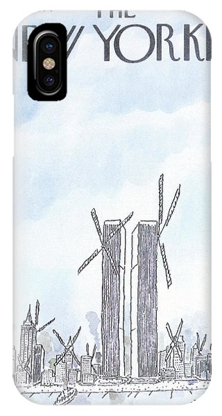 New Yorker April 29th, 1974 IPhone Case