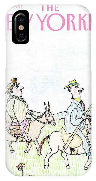 New Yorker April 29th, 1991 IPhone Case