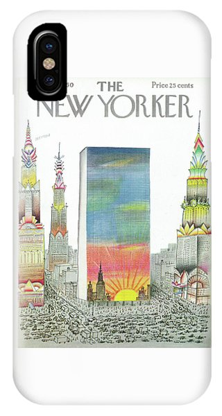 New Yorker April 2nd, 1960 IPhone Case