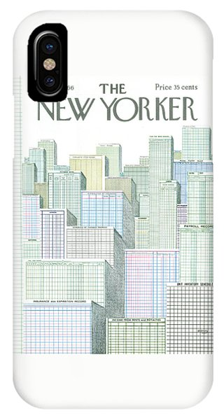 New Yorker April 2nd, 1966 IPhone Case