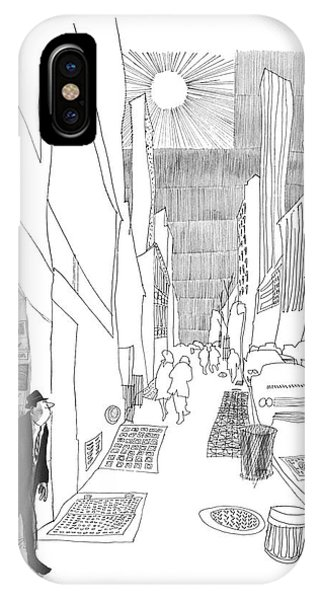New Yorker April 3rd, 1965 IPhone Case