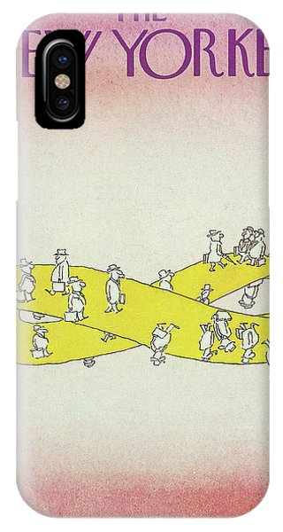 New Yorker April 5th, 1976 IPhone Case