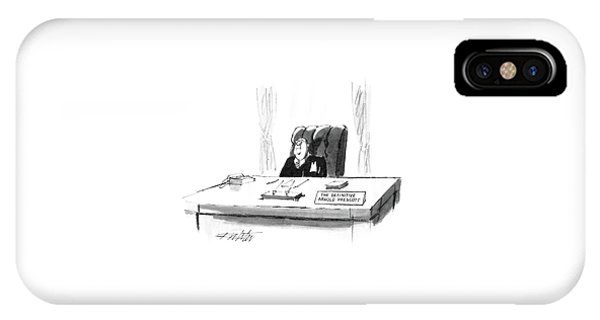 New Yorker April 7th, 1986 IPhone Case