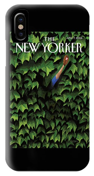 New Yorker April 7th, 2008 IPhone Case