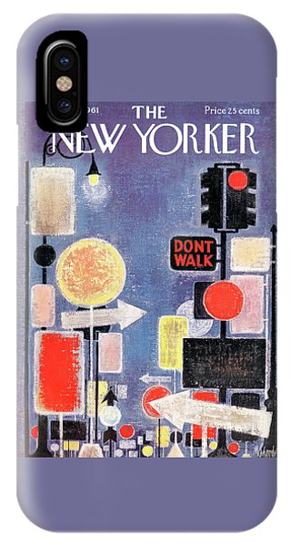 New Yorker April 8th, 1961 IPhone Case