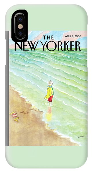 New Yorker April 8th, 2002 IPhone Case