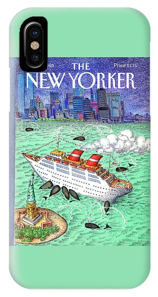 New Yorker April 9th, 1990 IPhone Case
