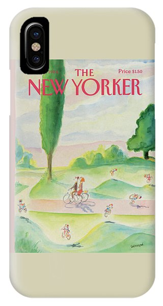 New Yorker August 11th, 1986 IPhone Case