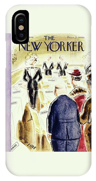 New Yorker August 17 1940 IPhone Case