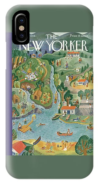 New Yorker August 18th, 1934 IPhone Case