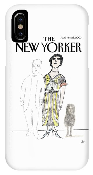 New Yorker August 18th, 2003 IPhone Case