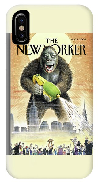 New Yorker August 1st, 2005 IPhone Case