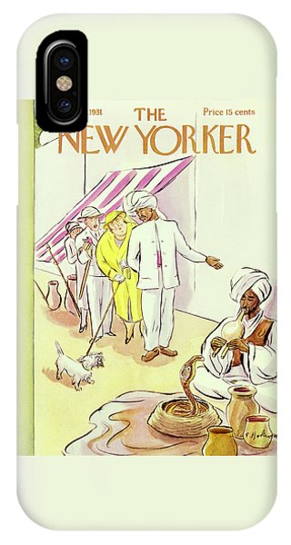 New Yorker August 22 1931 IPhone Case