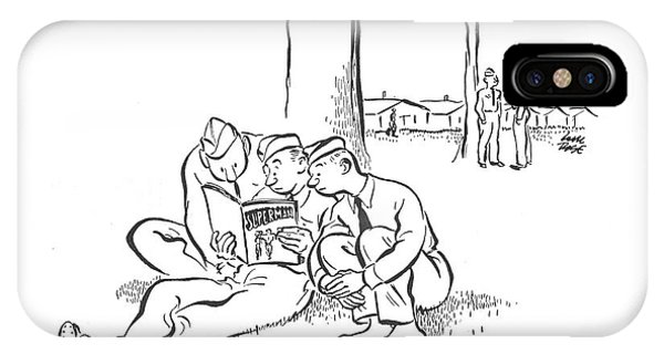 New Yorker August 23rd, 1941 IPhone Case