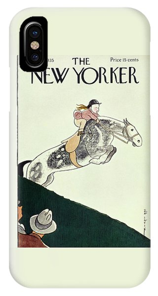 Representation iPhone Case - New Yorker August 24 1935 by Rea Irvin