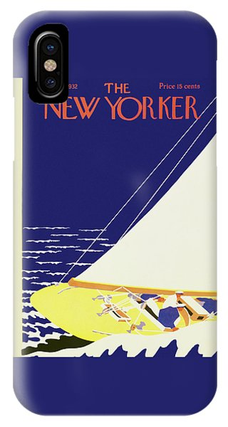New Yorker August 27 1932 IPhone Case