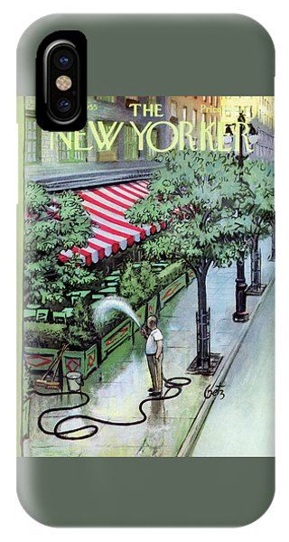 New Yorker August 27th, 1955 IPhone Case