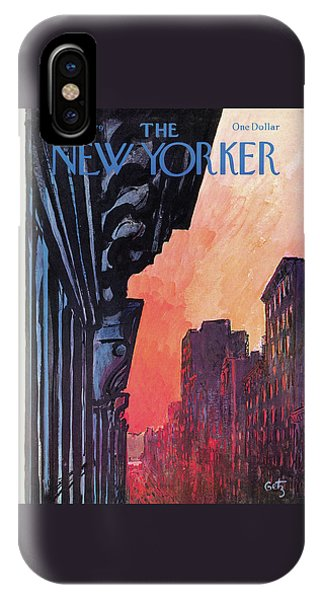New Yorker August 27th, 1979 IPhone Case