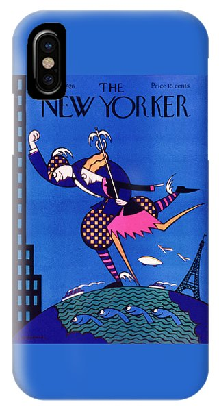 Representation iPhone Case - New Yorker August 28 1926 by H. O. Hofman