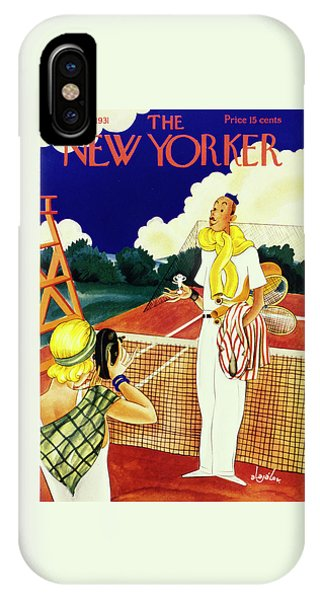 Representation iPhone Case - New Yorker August 29 1931 by Constantin Alajalov