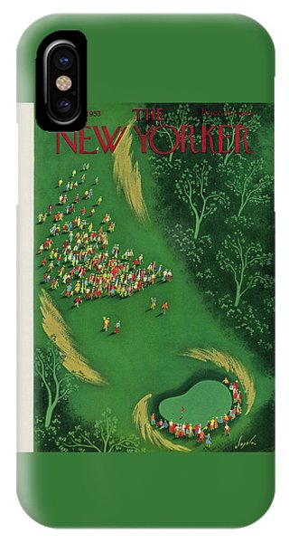 New Yorker August 29th, 1953 IPhone Case