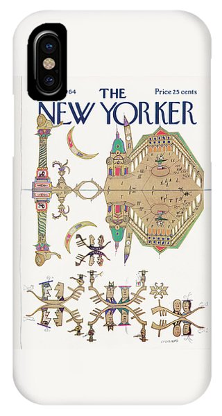 New Yorker August 29th, 1964 IPhone Case