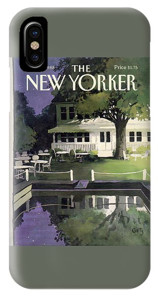 New Yorker August 29th, 1988 IPhone Case
