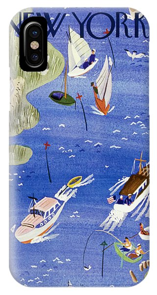 New Yorker August 3 1940 IPhone Case