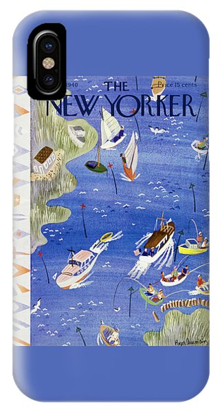 Representation iPhone Case - New Yorker August 3 1940 by Roger Duvoisin