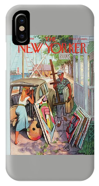 New Yorker August 30th, 1958 IPhone Case
