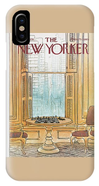 New Yorker August 30th, 1976 IPhone Case