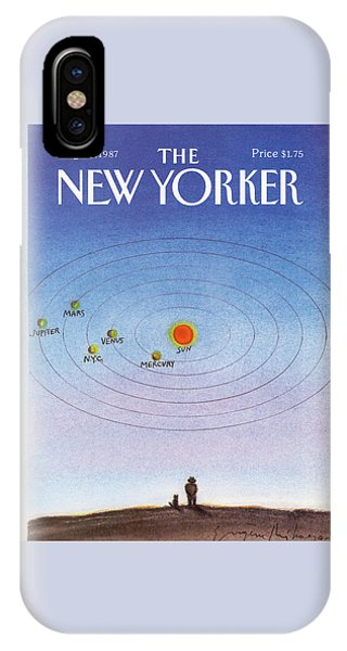 New Yorker August 31st, 1987 IPhone Case