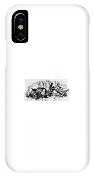 Trucking iPhone Case - New Yorker August 5th, 1944 by Alan Dunn
