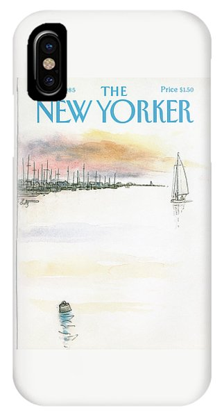 New Yorker August 5th, 1985 IPhone Case